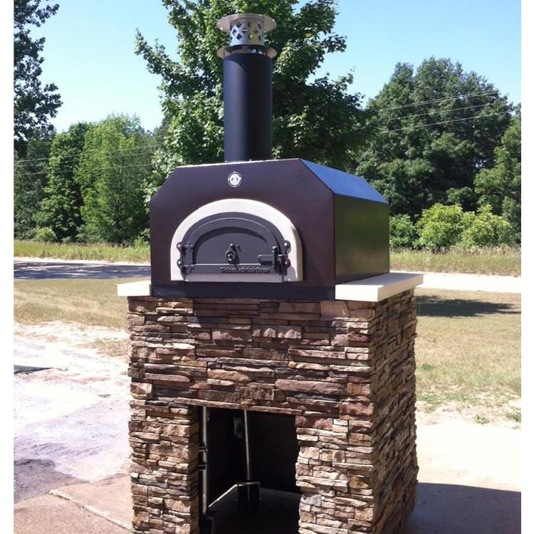 countertop pizza oven wood fired chicago brick oven cbo500 - Countertop Pizza Oven