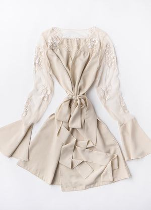 HILDY ROBE- CHAMPAGNE - Robed With Love