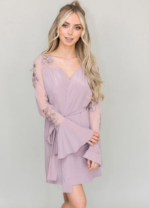 HILDY ROBE- DUSTY LAVENDER - Robed With Love