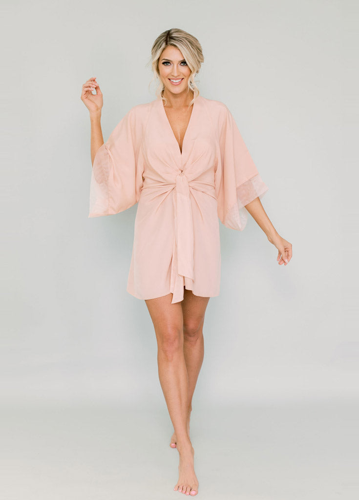 Kristy Kimono- Pink - Robed With Love