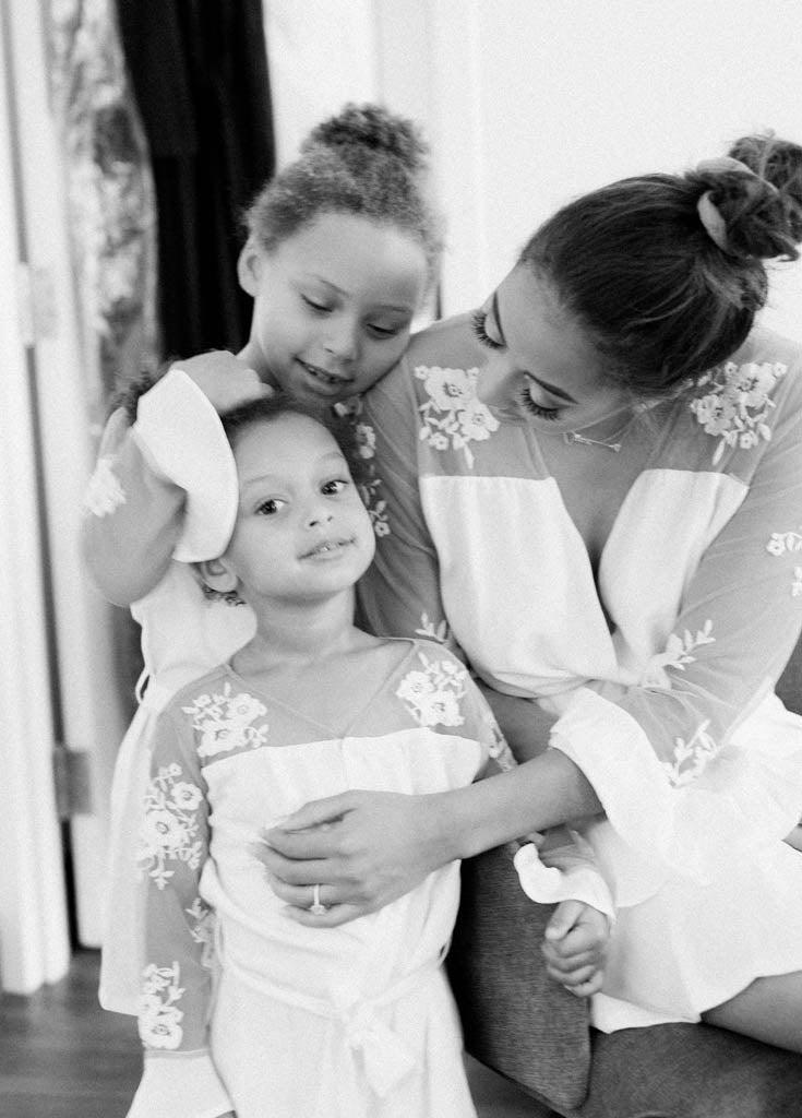 FLOWER GIRL- CHILDREN'S HILDY ROBE- WHITE - Robed With Love