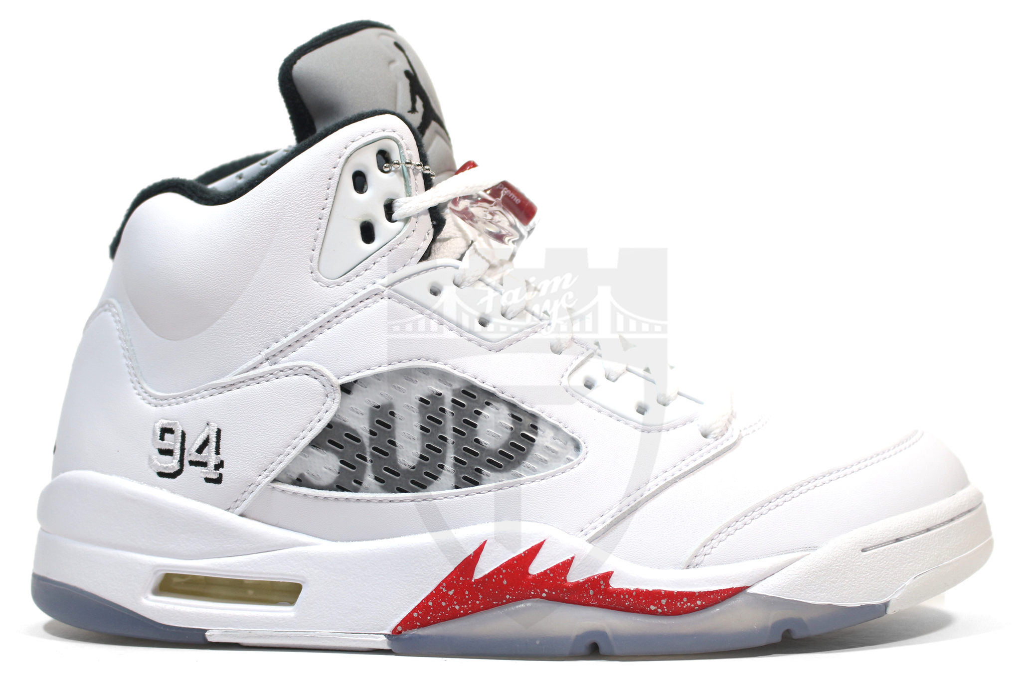 9454a06dcc7b ... reduced air jordan 5 retro supreme white 79a77 b6cec