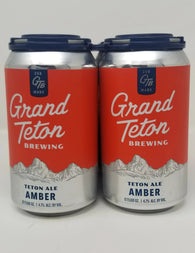 Grand Teton Brewing Amber Ale (6 pack)