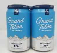 Grand Teton Brewing Sweetgrass APA (6 pack)