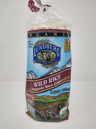 Lundberg Organic Rice Cakes Lightly Salted