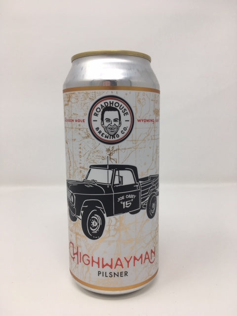 Roadhouse Brewing Co. Highway Man Pilsner (6 pack cans)