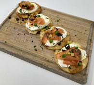 Smoked Salmon Mozzarella