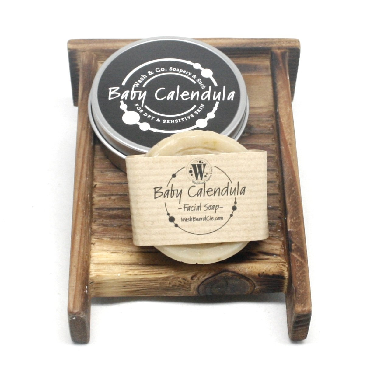 Baby Calendula Facial Soap in a Travel Tin