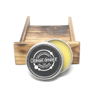 Beard Balm Orange Ginger 1oz Tin