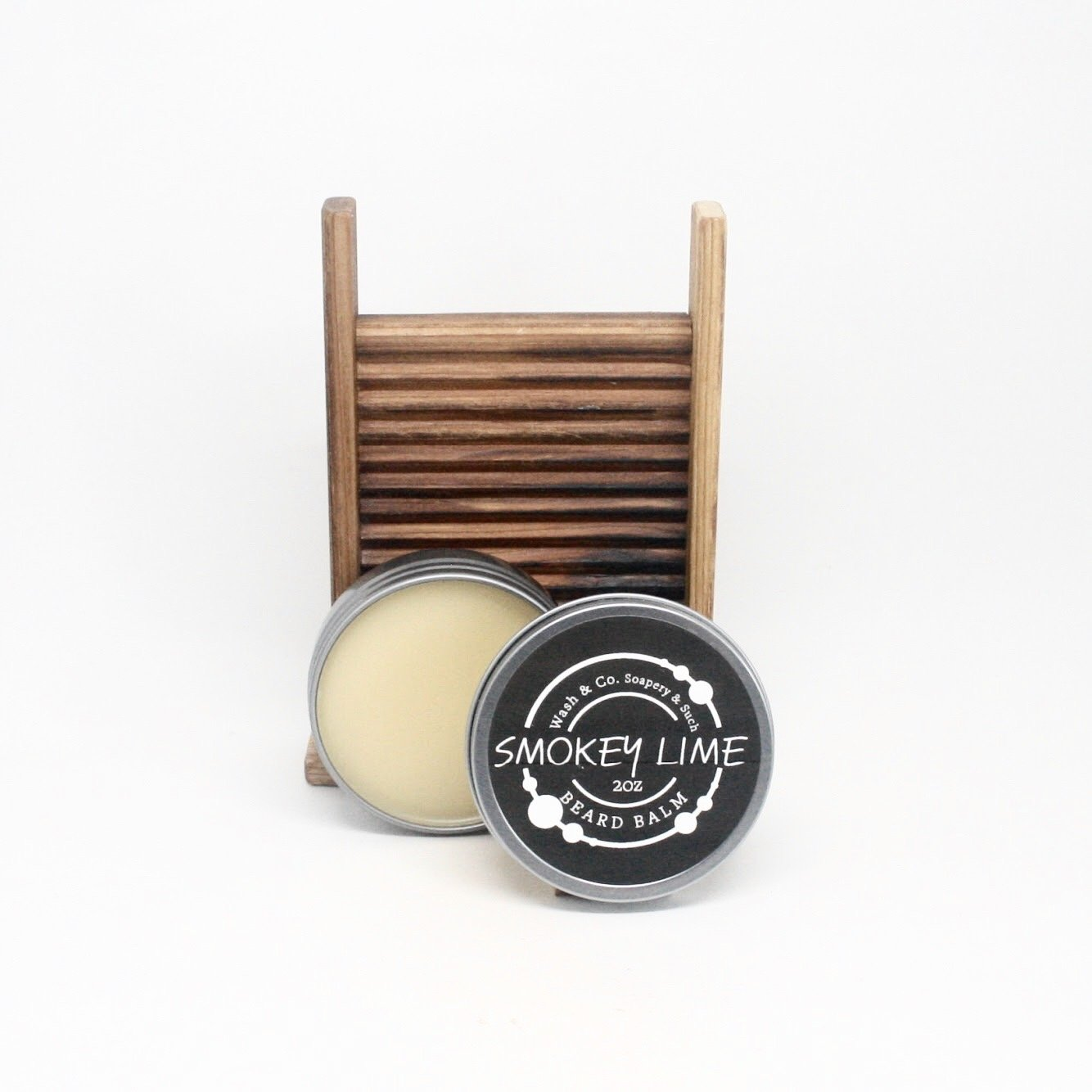 Beard Balm Smokey Lime 2oz Tin