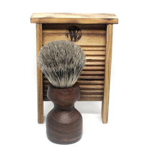 Shaving Brush Rosewood & Master Badger Silvertip