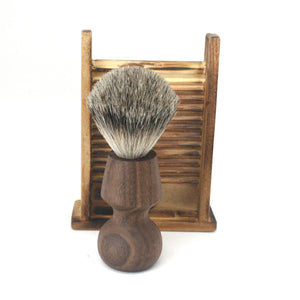 Shaving Brush Walnut & Master Badger SilverTip