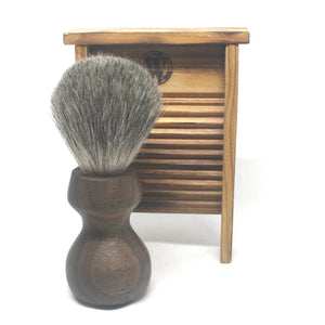 Shaving Brush Walnut & MIxed Badger