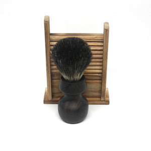 Shaving Brush Ziricote & Black Badger