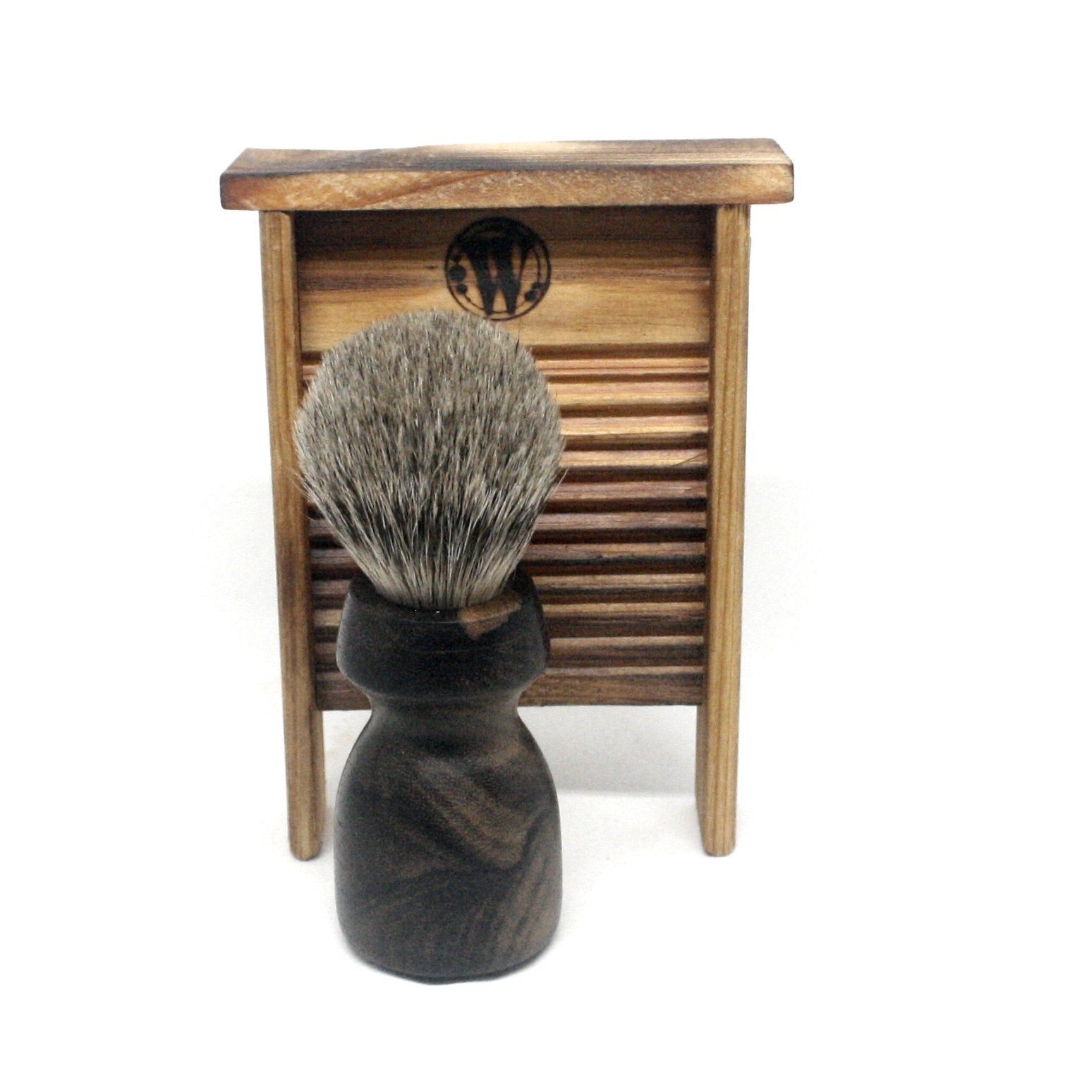 Shaving Brush Ziricote & Silvertip Badger