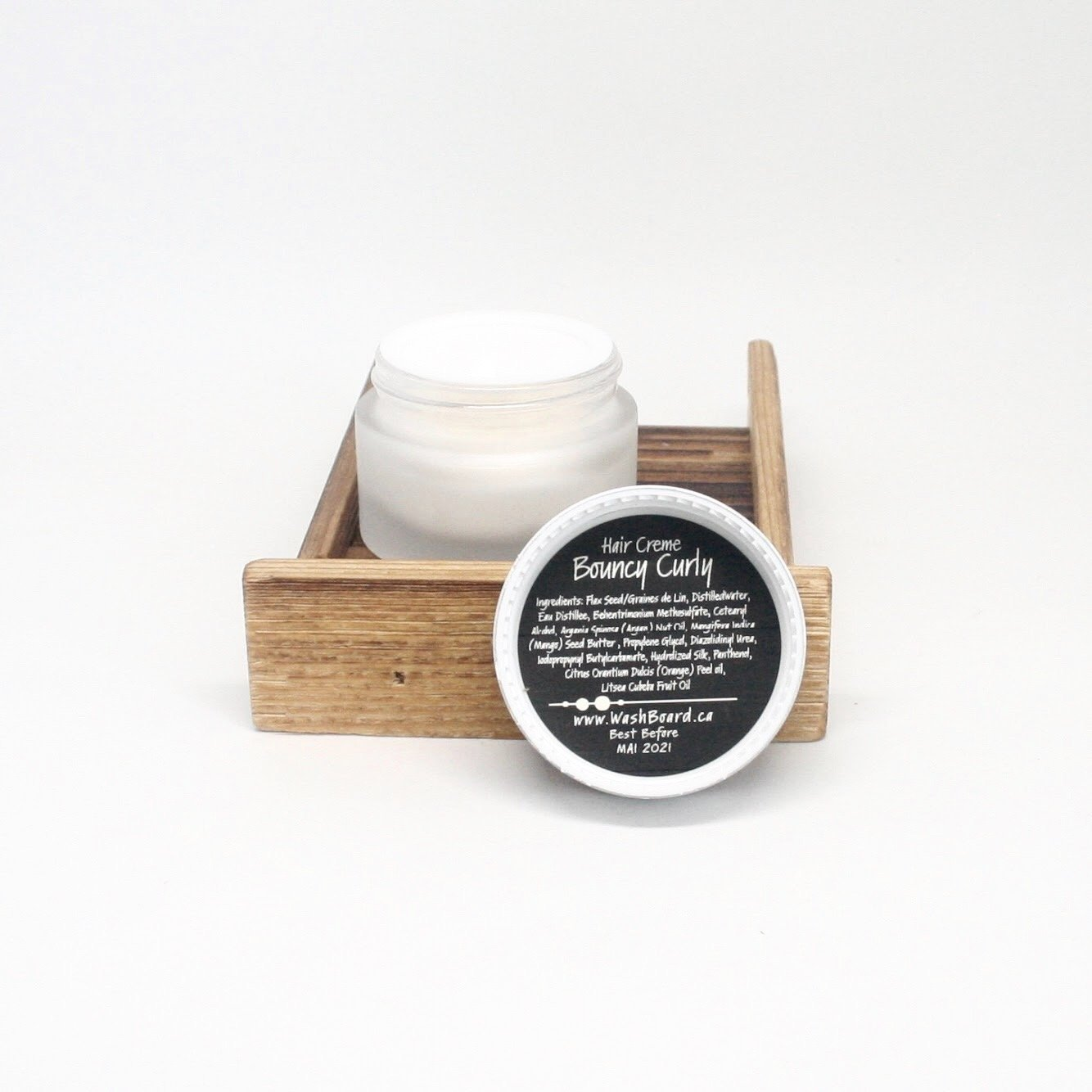 Bouncy Curly Hair Creme 30G