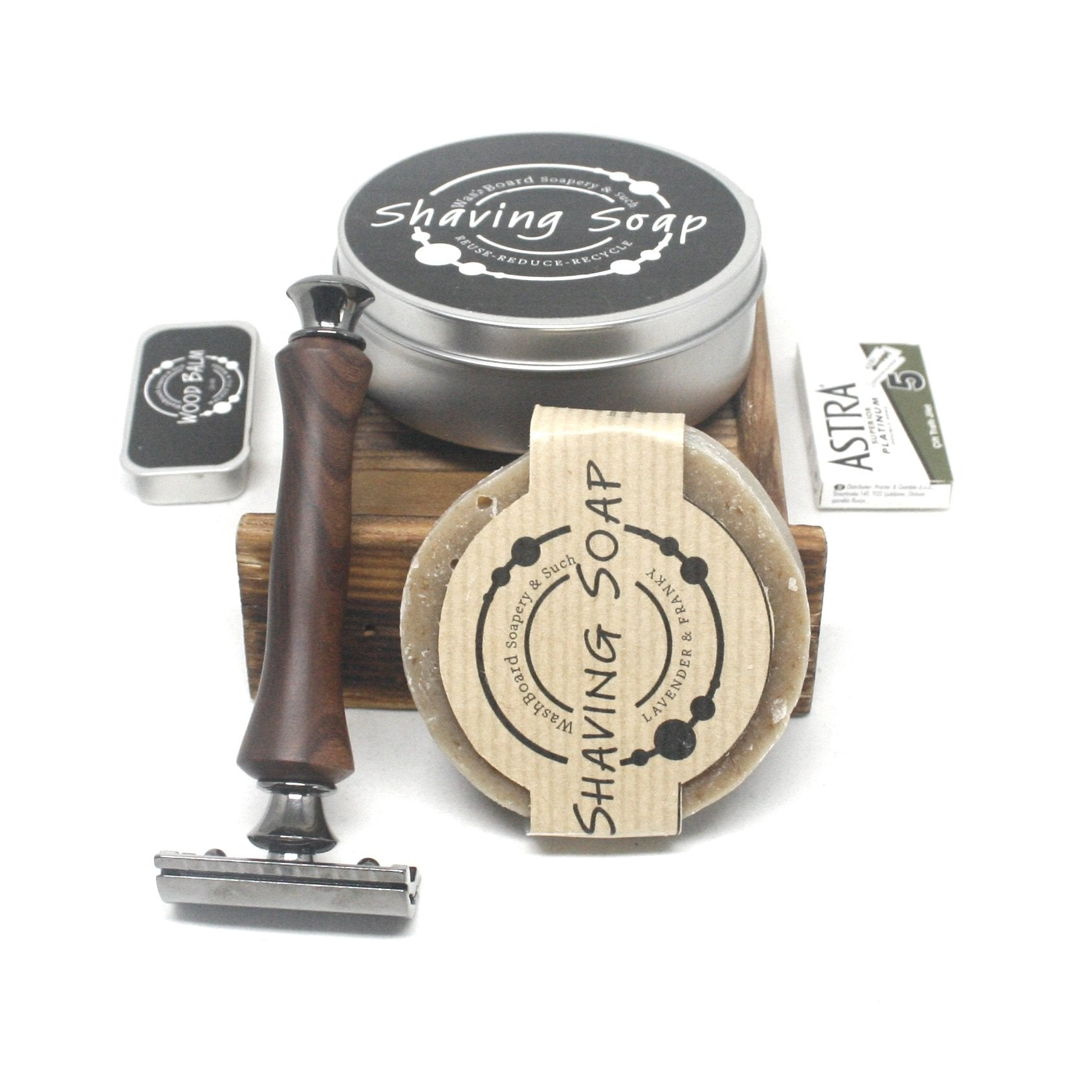 Shaving Set Razor & Travel Soap