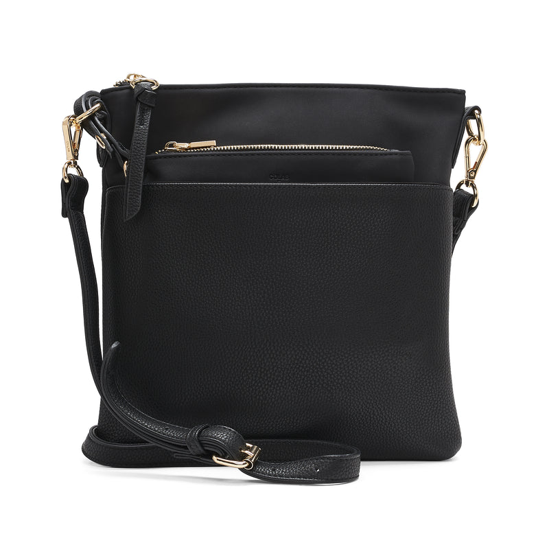 COLETTE - FLAT CROSSBODY WITH POUCH