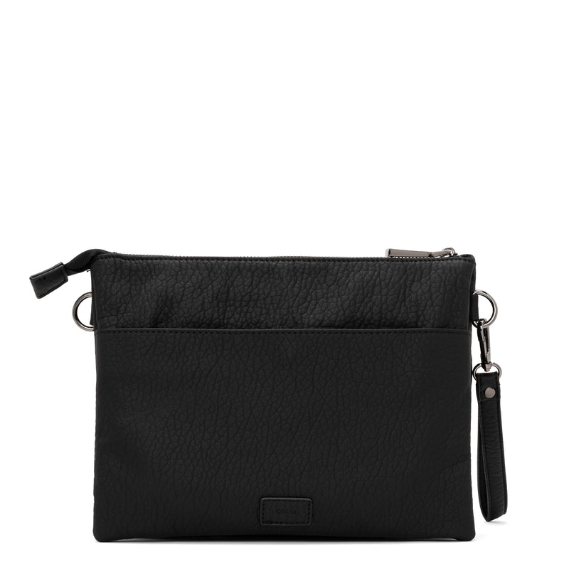 loft clutch crossbody - black