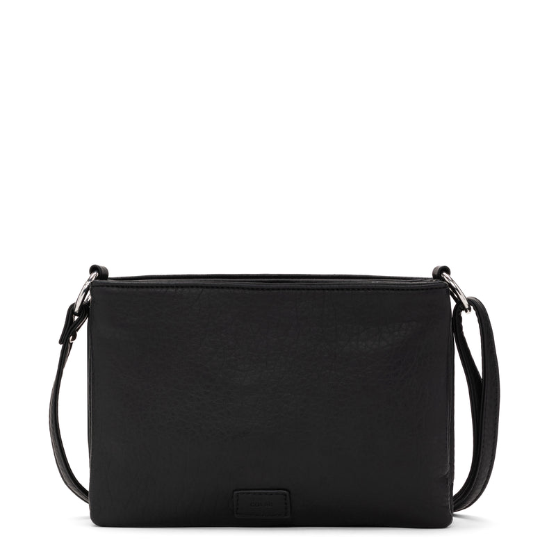 loft triple crossbody - black