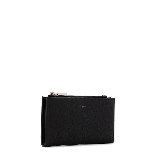 pebble minimal wallet - black