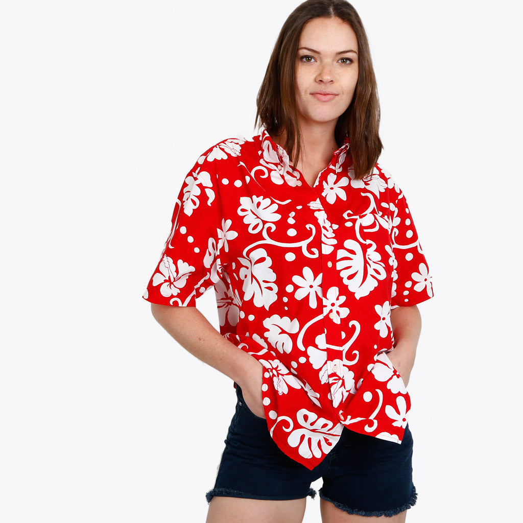 Mystery Tropical Button Down