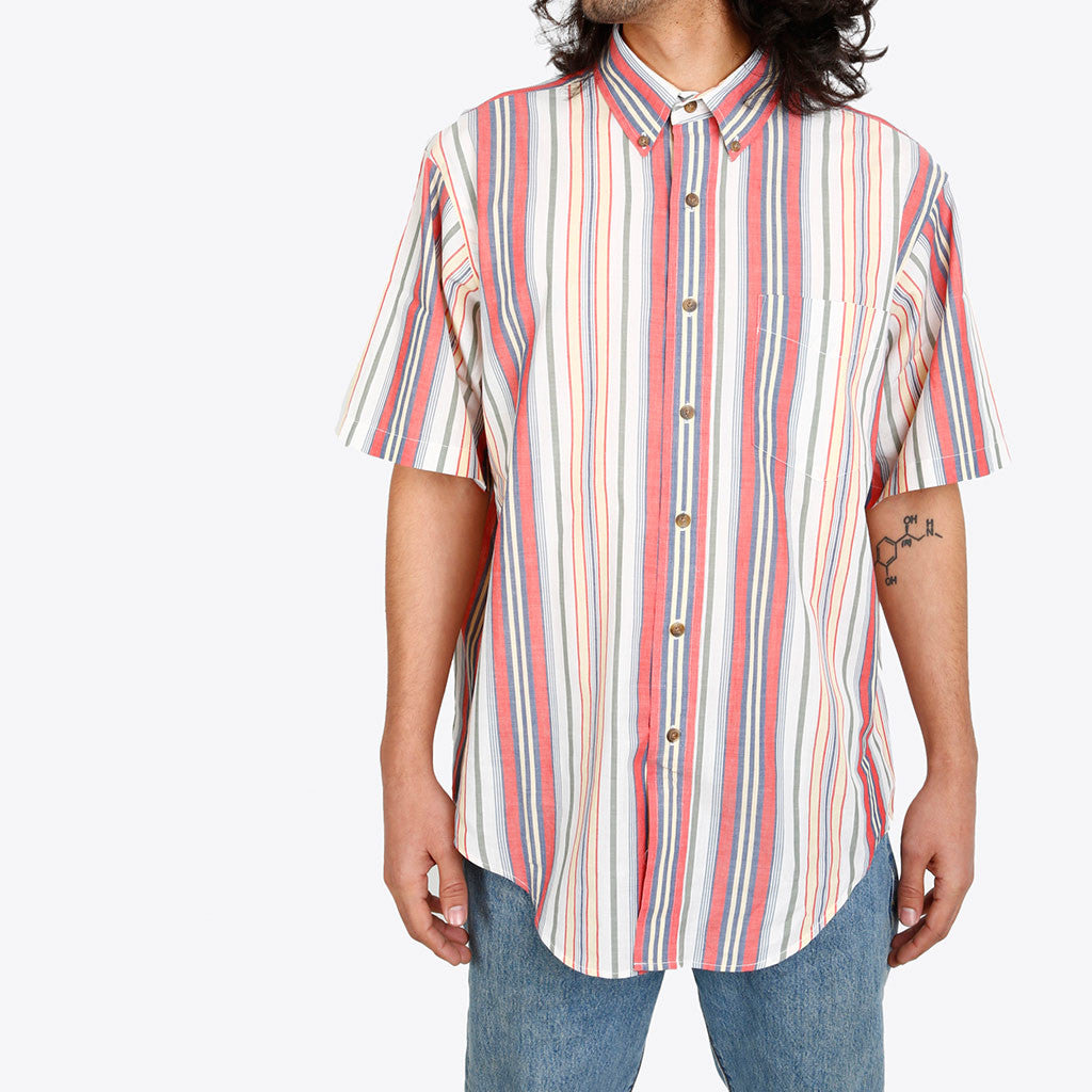 Mystery Short-Sleeve Button Down