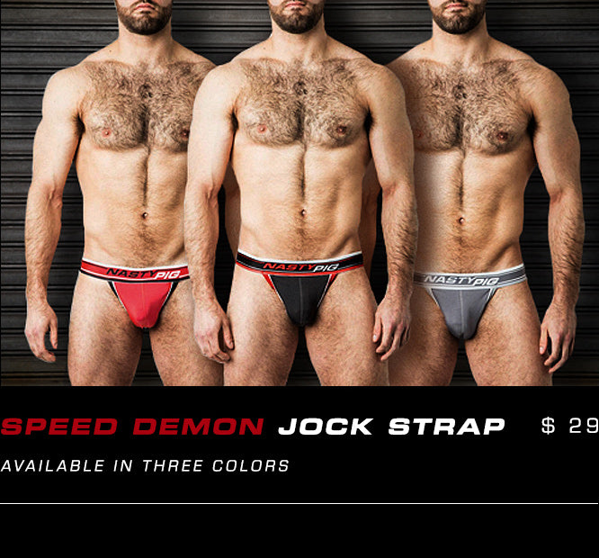 Speed Demon Jock Strap