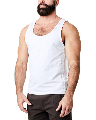 Title Intercept Tank Top