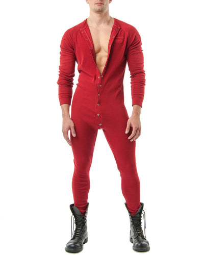 Union Suit | Red | Fall 2017 | Nasty Pig