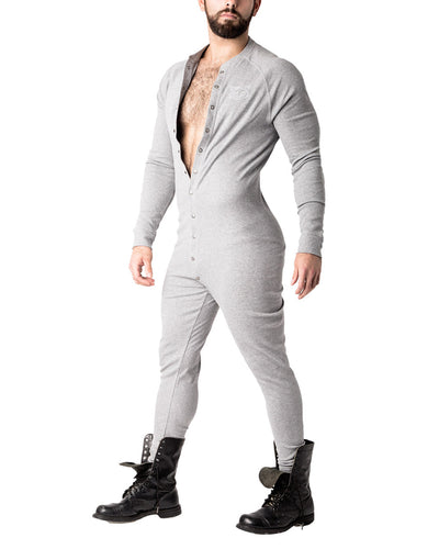Union Suit | Heather Grey | Fall 2017 | Nasty Pig