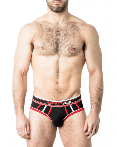 Speed Demon Brief Underwear | Black | Fall 2017 | Nasty Pig