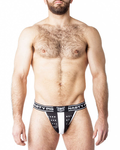 Neo Jock Strap | Black/White | Fall 2017 | Nasty Pig