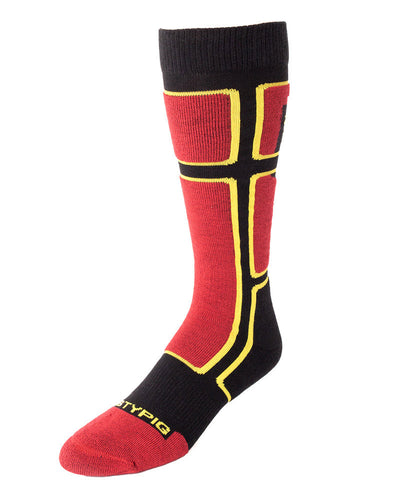 Ignition Socks | Red | Fall 2017 | Nasty Pig