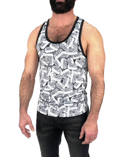 Dog Tag Tank Top