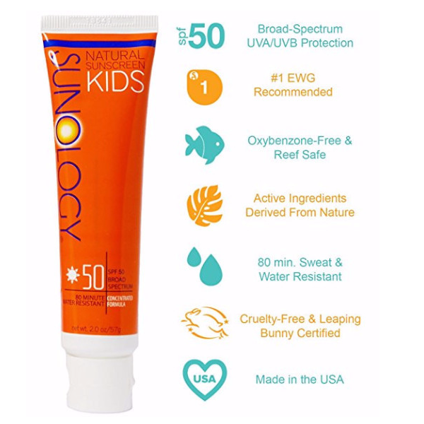 SPF 50 for Kids - Benefits