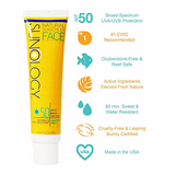 SPF 50 for Face - Benefits
