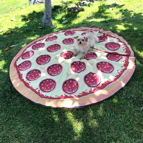 Pizza Picnic Sheet