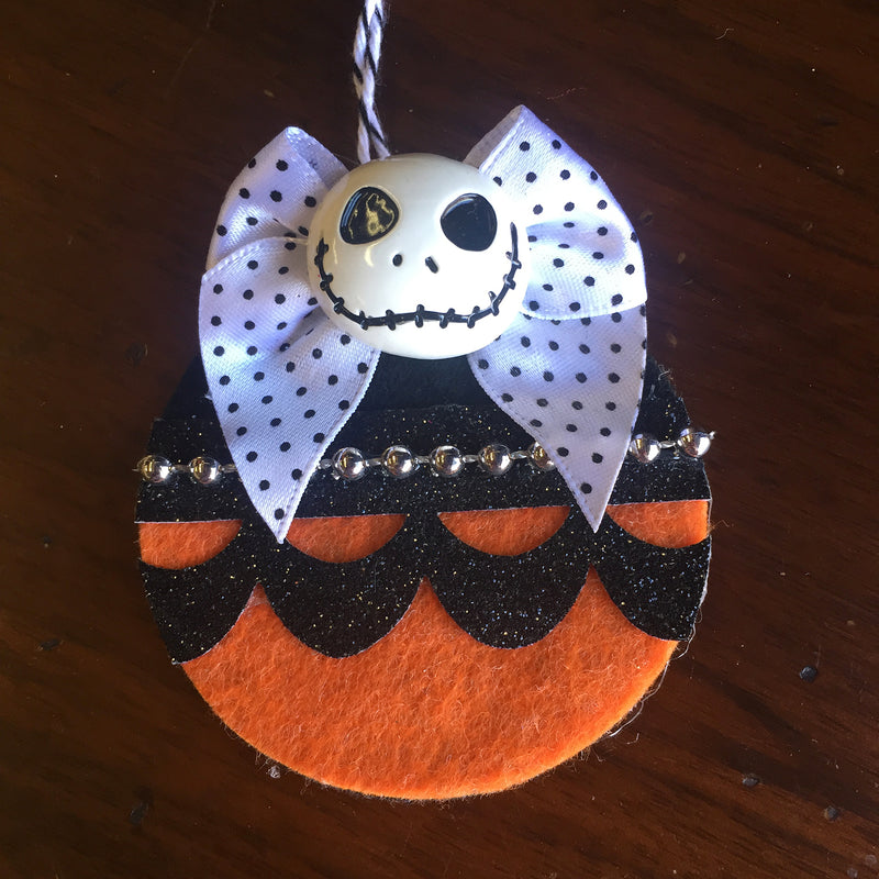 Nightmare Before Christmas Felt Ornament