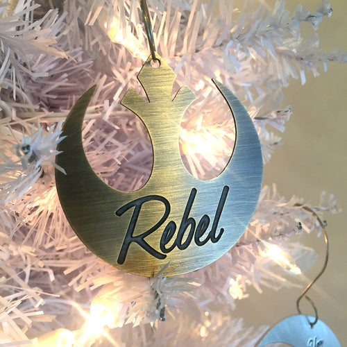 Rebel - Star Wars Christmas Ornament