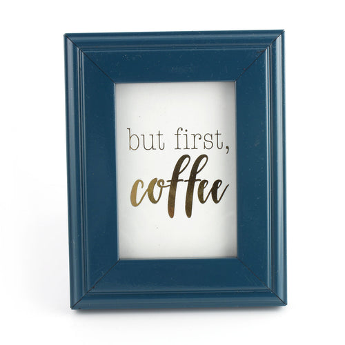 But First, Coffee - Framed Mini Print - Spiffing