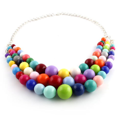 Multi-Strand Party Necklace - Spiffing