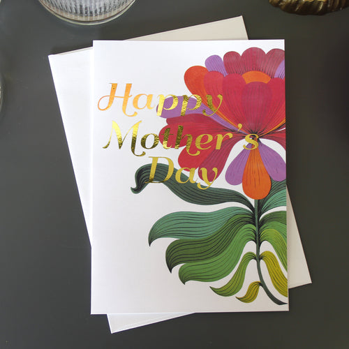 Mid Mod Mother's Day Card - Spiffing