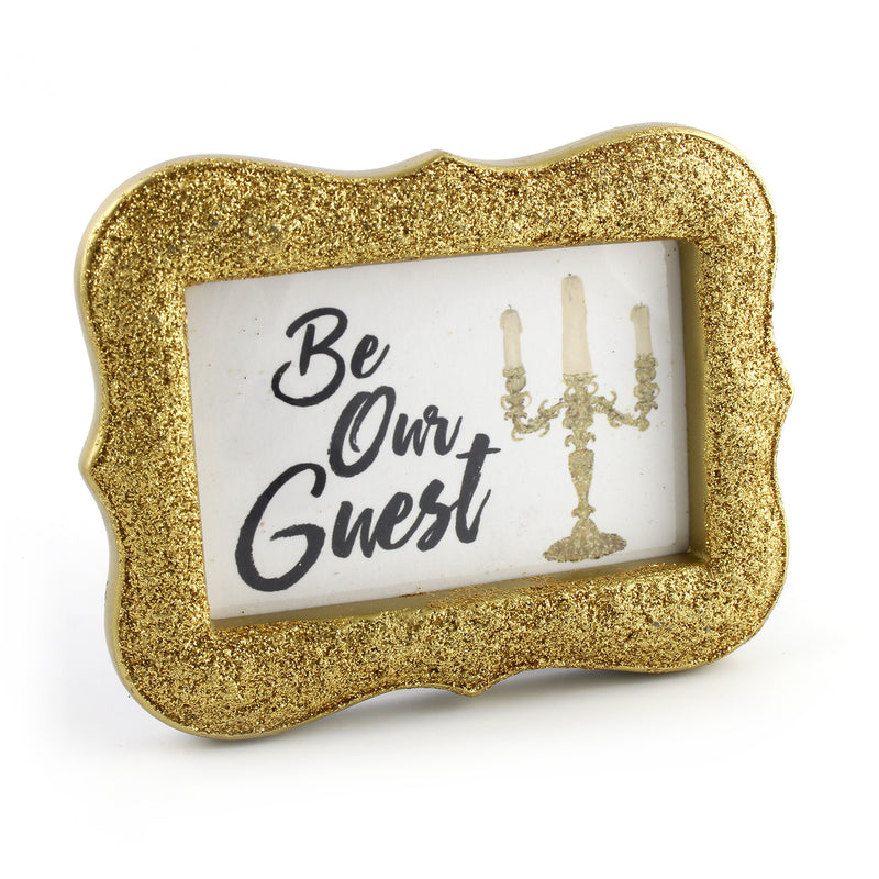 Be Our Guest - Framed Mini Print
