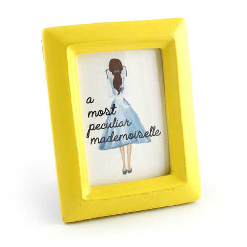 A Most Peculiar Mademoiselle - Framed Mini Print - Spiffing