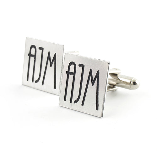 Art Deco Monogram Cufflinks