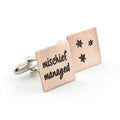 Mischief Managed Cufflinks