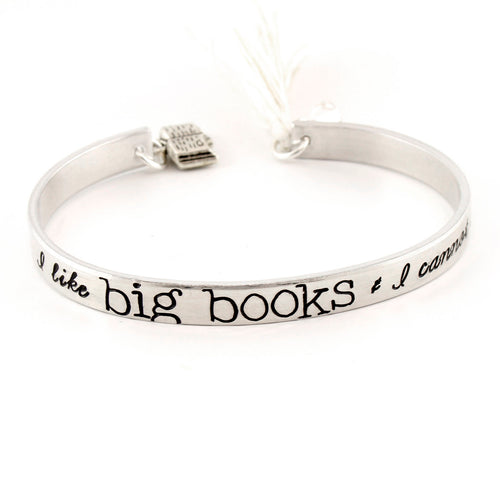 I Like Big Books & I Cannot Lie - Tassel Cuff Bracelet