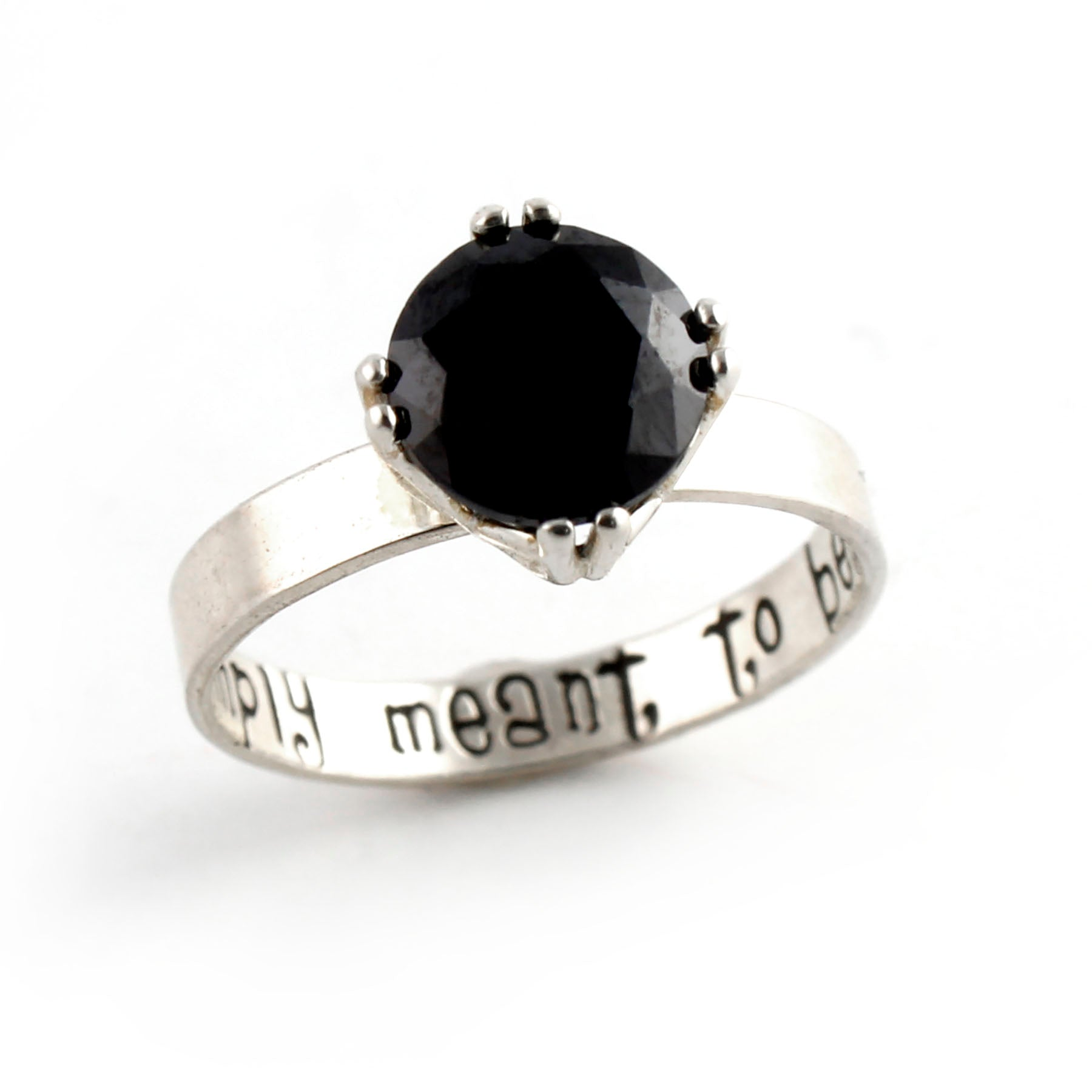 Nightmare Before Christmas Engagement Ring – Spiffing