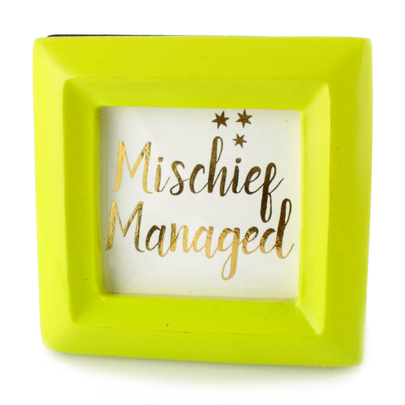 Mischief Managed - Framed Mini Print - Spiffing